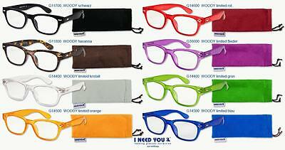 Lesebrille WOODY bis 3.50 dpt ++ I NEED YOU ++ Topseller