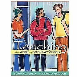 NEW US EDITION - Teaching in the Middle and Secondary Schools - Carjuzaa (10 Ed)