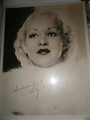 Betty Grable Vintage Signed Photograph