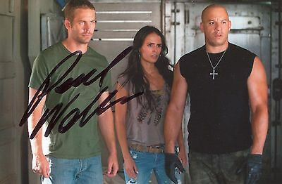 Photo de Paul Walker signature autographe E3!!!!!!!!!!!!!!!!!!!!!!!!!!!!!!!!!!!!