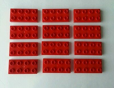 Lego Duplo Replacement Lot of 13 Red 2x8 Rectangle Plates