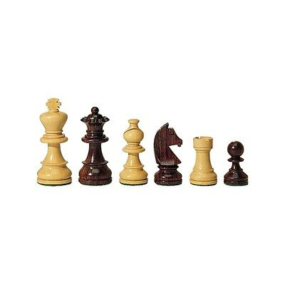 Chess figures - Palisander and Boxwood - Kings height 83 mm