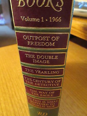 Readers Digest condensed books volume 1 1966 1st Edition Decorative Hardcover