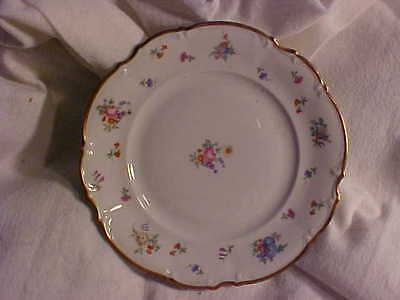 Hutschenreuther Selb Mayfair PASCO Salad Plate Bavaria Germany White 7619