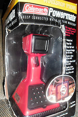 Coleman PowerMate Workshop Telephone Phone with Integrated flashlight