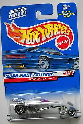 HOT WHEELS 2000 FIRST EDITIONS COLLECTOR# 095 GREASED LIGHTNIN #35 OF 36 LOT 4