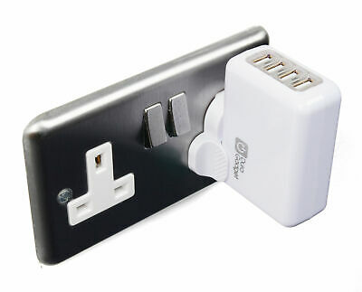 UK Mains / Home / Wall Charger With USB Port For Garmin Approach S2/S3/S4/S5/S6