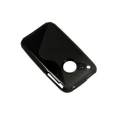 gift Black RUBBER TPU GEL HARD Case SKIN Cover FOR Apple iPhone 3G 3GS 8GB 16GB