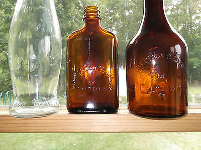 """3 DIFFERENT SIZES """"THE CHRISTIAN BROTHERS OF CALIFORNIA""""OLD WHISKEY BOTTLES"""