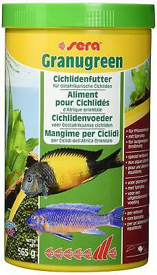 SERA Granugreen Granulated Pet Feed For Cichlid