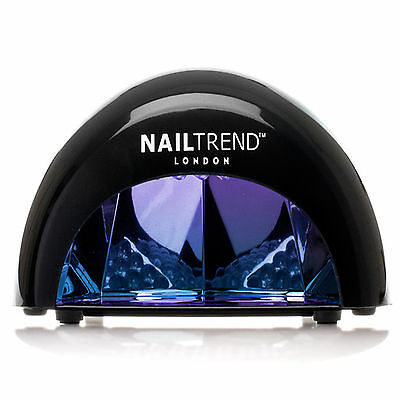 Professional LED Nail Trend Lamp Dryer for Gel Polish 4x Timers High Quality Kit