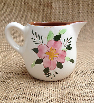 Stangl Pottery Pink Flower CREAMER - Country Gardens Pattern - c. 1958