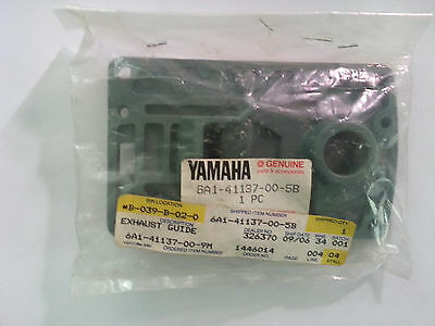 NOS New Old Stock Genuine Yamaha Marine 6A1-41137-00-5B Exhaust Guide Upper