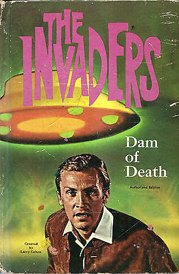 1967 The INVADERS Dam of Death Children's Book Television Show