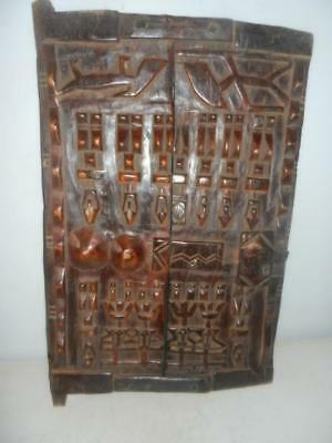Dogon Granary Door 22x14 inches #Alobalo african tribal art Mali