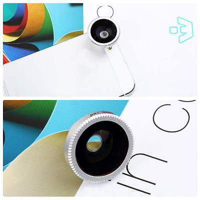 Magnetic Wide 180°Detachable Fish Eye Lens for iPhone4/4G/4S/ CellPhone GOOD EC
