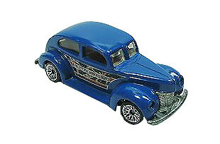 HOT WHEELS MATTEL WHEELS COLLECTOR# 027 FAT FENDERED '40 CIRCUS ON WHEELS SERIES