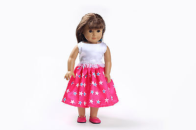 Hot!! Handmade lovely dress clothes for 18 inch American Girl Doll b122