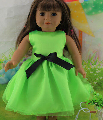 2014 New Design Handmade lovely Dress Clothes for 18 inch American Girl Doll b55