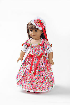 Hotsell Handmade lovely dress clothes for 18 inch American Girl Doll b139