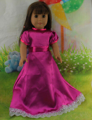Hot Handmade lovely dress clothes for 18 inch American Girl Doll b86