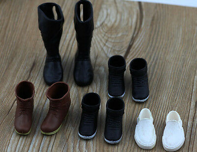 5 Paris Mix Style Lovely Gift Handmade shoes For Barbie boy friend ken Doll a0