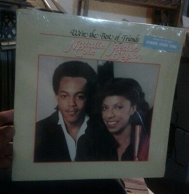 NATALIE COLE PEABO BRYSON-WE'RE THE BEST OF FRIENDS VG++ SHRINK   '79 Capitol