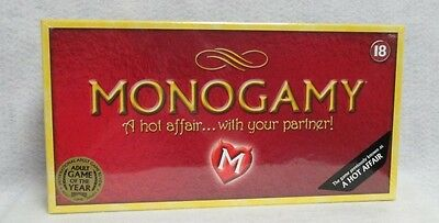 Monogamy Couples Board Game Play Intimate Passionate Steamy Hot Sexy Lovers