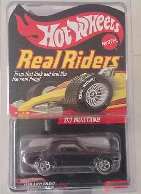 Hot Wheels RLC 2007 Real Riders Series 7 '65 MUSTANG #8592/10000 MINT