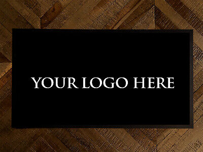 Personalised bar runner with your logo pub beer label Bar coffee Shop mat