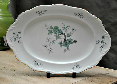 MITTERTEICH  Large  Meat Platter GREEN MING pattern BAVARIA Germany 9901 - 89
