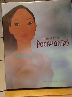 Disney The Art of Pocahontas 1995 signed by Chris Buck, co-director of Frozen +