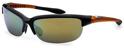 X-Loop Sport Driving Cycling Fishing Golf Sunglasses Mens Wrap Around Polarized