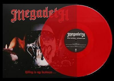 MEGADETH - Killing is my Business... LP - RED 180 Gram Import - SEALED NEW COPY
