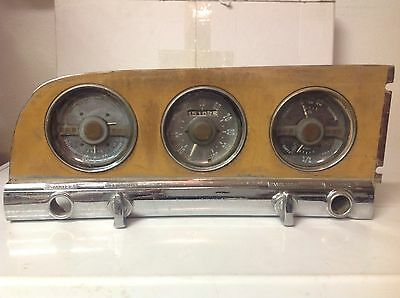 1950 Plymouth Deluxe dash gauge cluster