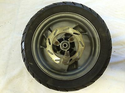 PEUGEOT VIVACITY 100cc SET OF FRONT WHEEL TYRE AND DISC