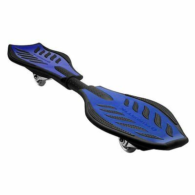 Razor RipStik Ripster Caster Board (Blue) Kids Play Game Fun Outdoor Skateboard