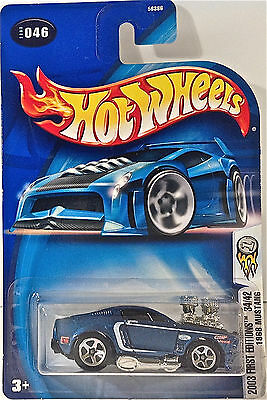 Hot Wheels 2003 #046 1968 Mustang, 2003 First Editions 34/42 MOC