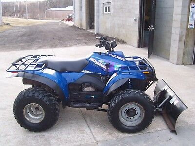 1994 Polaris Magnum 425 4 stroke, 4WD, winch and plow, automatic, CHEAP