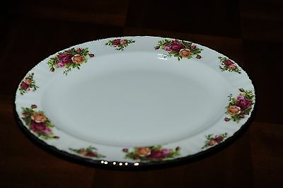 "Royal Albert 1962 Old Country Roses BRAND NEW 13.5"" Oval Serving Platter Tray"