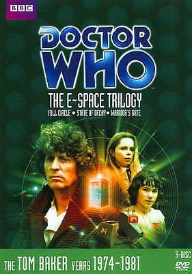 Doctor Who - The E-Space Trilogy (DVD, 2012, 3-Disc Set)