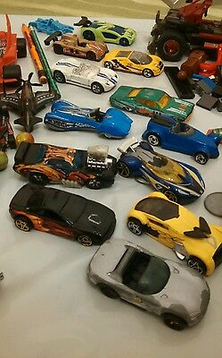 Lot of hot wheels and boys toy box clean out. Misc skool bust