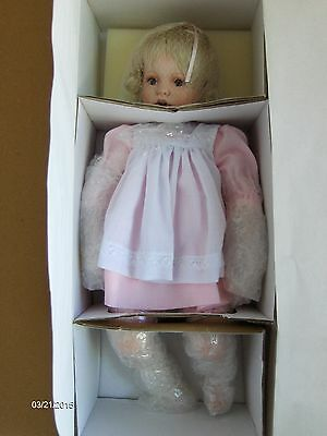 14 inch Baby Shay Porcelain Doll by Donna Rubert