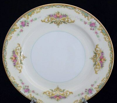"NORITAKE China GLORIA Salad Plate Dessert Luncheon Lunch Plate 7 5/8""  Excellent"