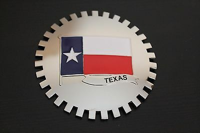 Texas Flag Grille Badge Emblem Accessory Mounting Hardware Ford Plymouth Mopar