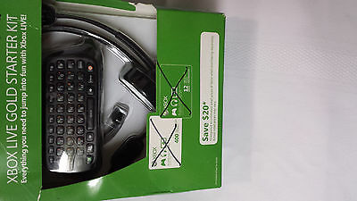 XBOX Live Gold Starter Kit No Live Card Codes No Points Brand New Never used
