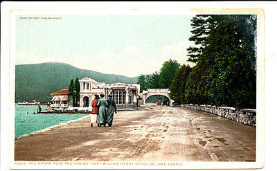 LAKE GEORGE NY - Fort William Henry Hotel Shore Road and Casino