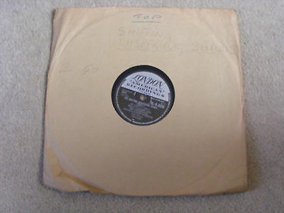 BILLY VAUGHN & HIS ORCHESTRA - THE SHIFTING WHISPERING SANDS ( 78rpm record)