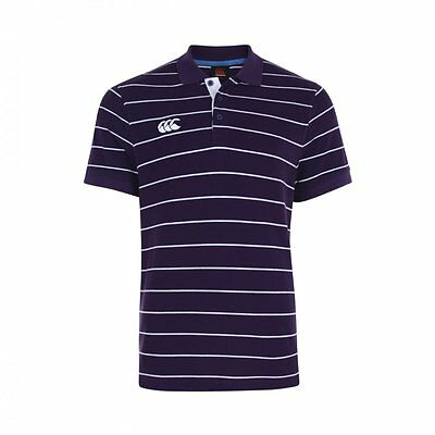 Polo rugby Stripe canterbury purple Taille L Neuf avec étiquette