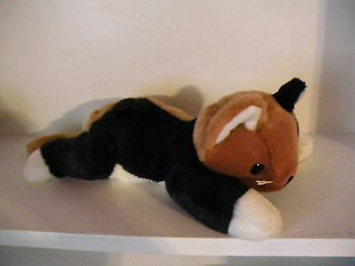 "Chip the Calico Cat 15"" TY Beanie Buddy Plush Stuffed Animal  No Tag 1998"